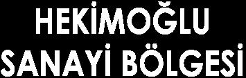 Hekimoğlu Sanayi Bölgesi